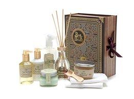 A Patchouli Lavender Vanila gift set