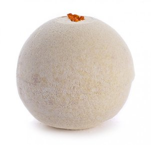 כדור מינרלים לאמבט כדור מינרלים לאמבט וניל עם פרח