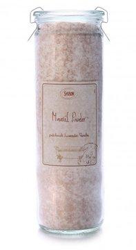 אבקת מינרלים אבקת מינרלים פטשולי-לבנדר-וניל