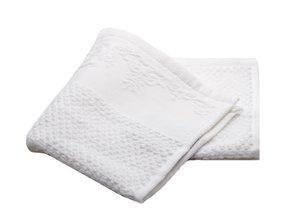 מגבות אמבט מגבת ידיים לבנה S