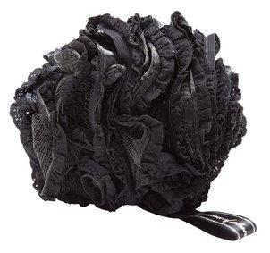 טקסטיל ספוג רחצה רשת שחור