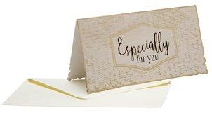 כרטיס ברכה ומעטפה Especially for You