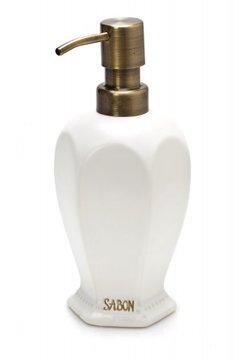 כלי קרמיקה דיספנסר קרמיקה לסבון נוזלי